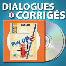 CD Audio et corrections anglais - RUN-UP - Niveau A2 - 4e / 3e agricole - DOCEO