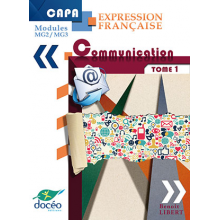 CAPA manuel scolaire - Expression française - Modules MG2/MG3 - Communication Tome 1